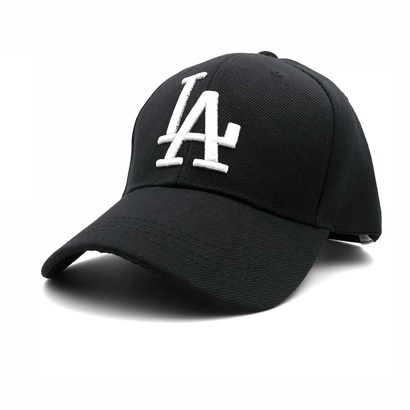 ecac72b793c 2018 New letter Baseball Caps LA Dodgers Embroidery Hip Hop bone Snapback  Hats for Men Women