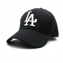 307bd86b176 2018 New letter Baseball Caps LA Dodgers Embroidery Hip Hop bone Snapback  Hats for Men Women