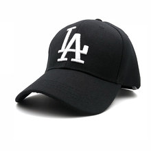 87e59fc8b5f 2018 New letter Baseball Caps LA Dodgers Embroidery Hip Hop bone Snapback  Hats for Men Women Adjustable Gorras NY Casquette