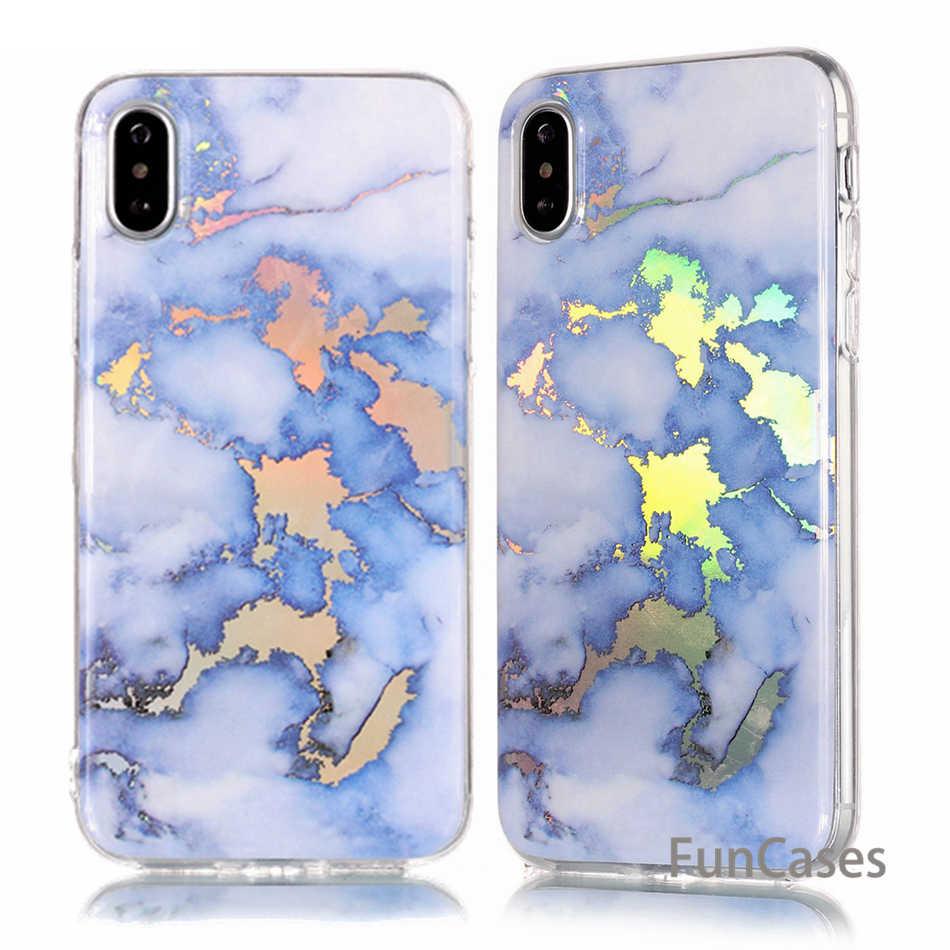 패션 대리석 전화 케이스 아이폰 x 케이스 삼성 갤럭시 s5 s6 s7 가장자리 s8 플러스 coque imd tpu 다시 커버 capa fundas b02