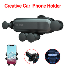 Gravity Car phone Holder For iPhone X Xs Max Samsung S9 Car Air Vent Mount Car Holder For Xiaomi Redmi Huawei Mobile Phone Stand metrans gravity car phone holder for iphone 7 xs max 360 degree gps air vent mount holder for samsung xiaomi huawei phone stand