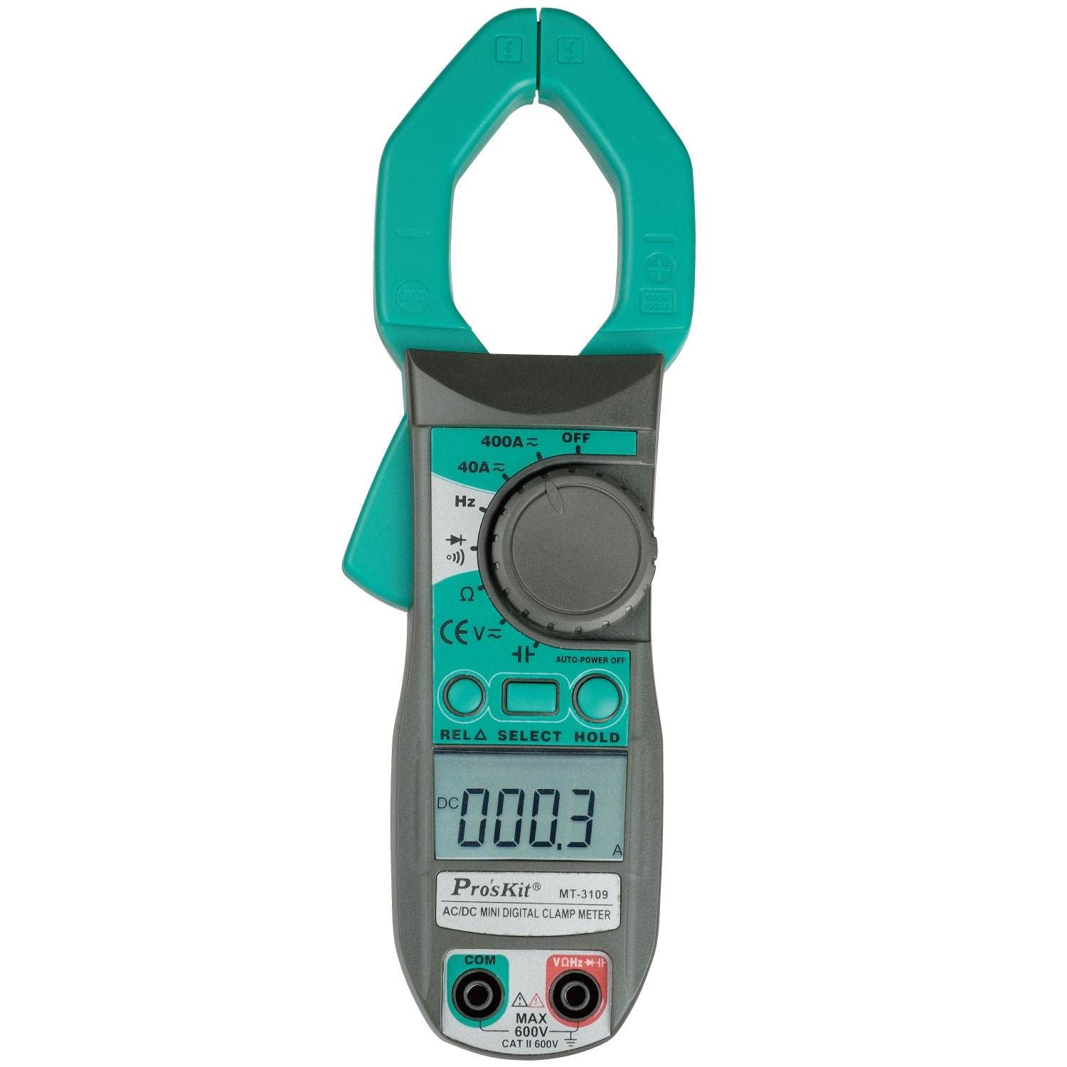 MT-3109 3 3/4 Digital Multimeter Clamp Meter DC AC Voltage Current Capacity Resistance Tester auto digital clamp meter mastech ms2108a pincers ac dc current voltage capacitor resistance tester aimometer multimeter amper
