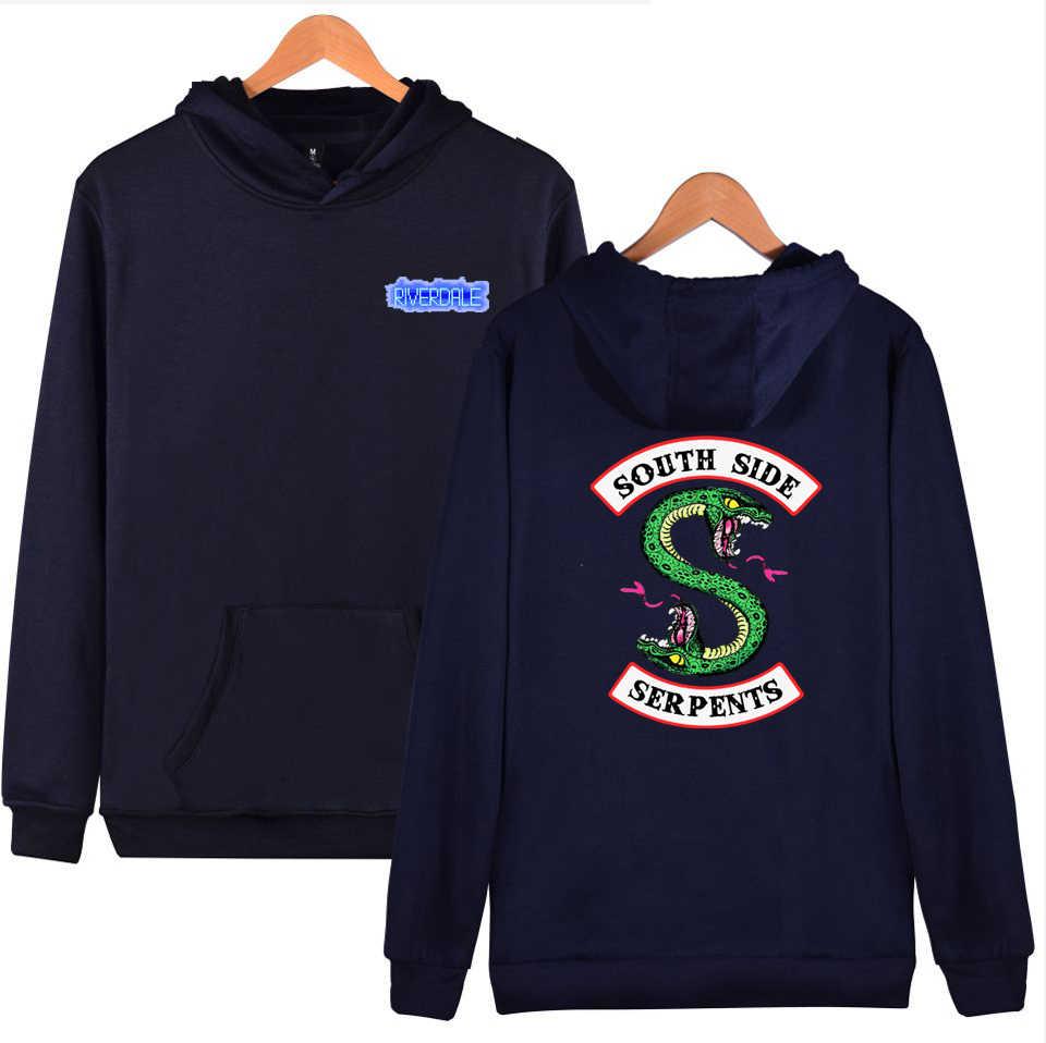 Kpop Riverdale Harajuku Loose Hoodies Sweatshirt Men/Women Autumn Winter Fashion Tracksuit Oversize Hoodies Women