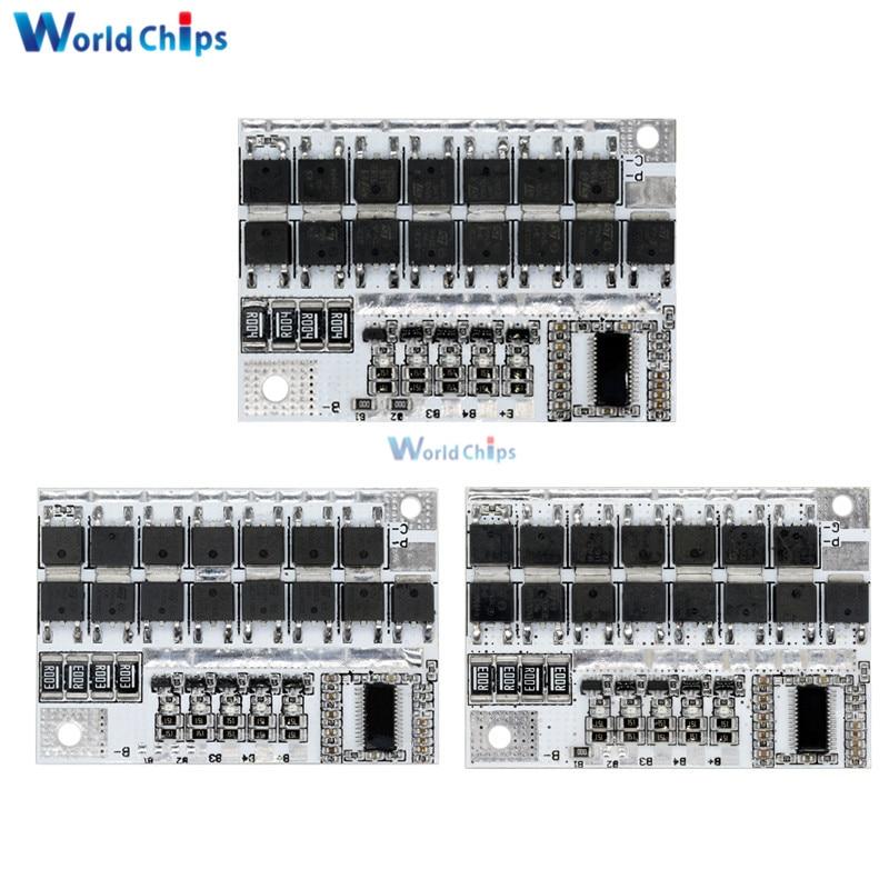 BMS 3S 4S 5S 12V 16,8 V 21V 100A литий-ионный Батарея защиты печатной платы с батарейный зарядный модуль для Мощность банка