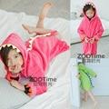 Crianças Vestes Desenhos Animados Meninos Meninas Animais lacing Pijamas Pijamas Roupão de Banho Do Bebê Dinossauro Romper crianças desgaste Casa pijamas Manto