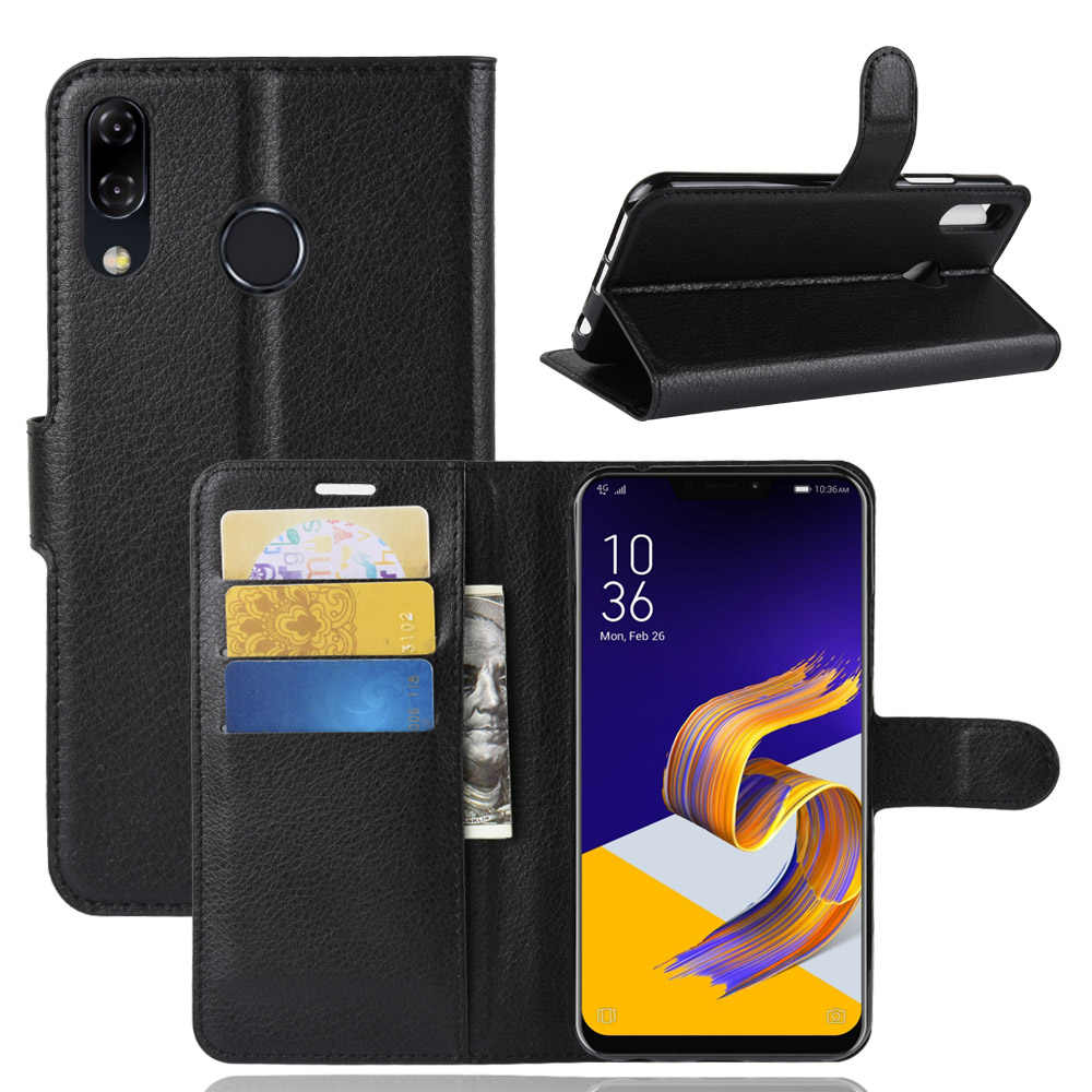 ZB555KL Forfor ASUS Zenfone 5 最大 M1 ZB555KL 電話財布 PU フリップケース Asus の Zenfone 5 最大 M1 ZB555KL x00P