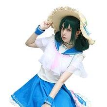 3f4e141e43873 My Hero Academia Ochaco Uraraka Asui Tsuyu Uniform Cosplay Costume For  Women top+