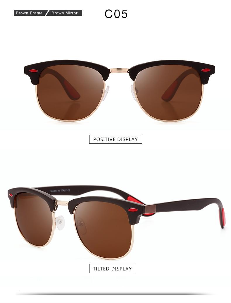ASUOP 2019 New Polarized Sunglasses for Women UV400 Fashion Round Men's Glasses Classic Retro Brand Design Driving Sunglasses (1)