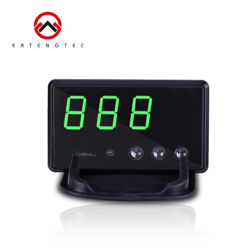 Voiture GPS enregistreur de données compteur de vitesse C61 affichage tête haute KM/h & MPH sur pare-brise alarme de vitesse facile à configurer prise en charge carte SD 32G
