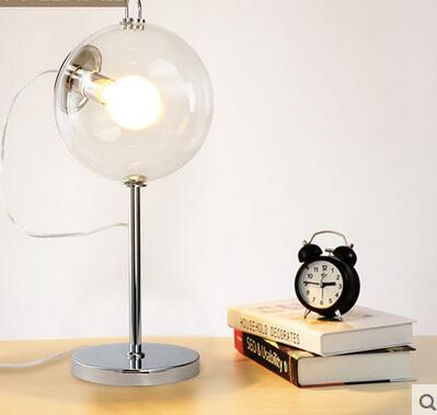 personalized fashion simple design soap bubble table study room lamp bedroom bedside office desk FG5355