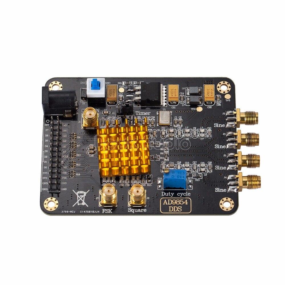 AD9854 Signal Generator Module High Speed DDS Development Board Sine/Square Wave douk audio ad9854 dds signal generator module stm32 scm heatsink master computer control