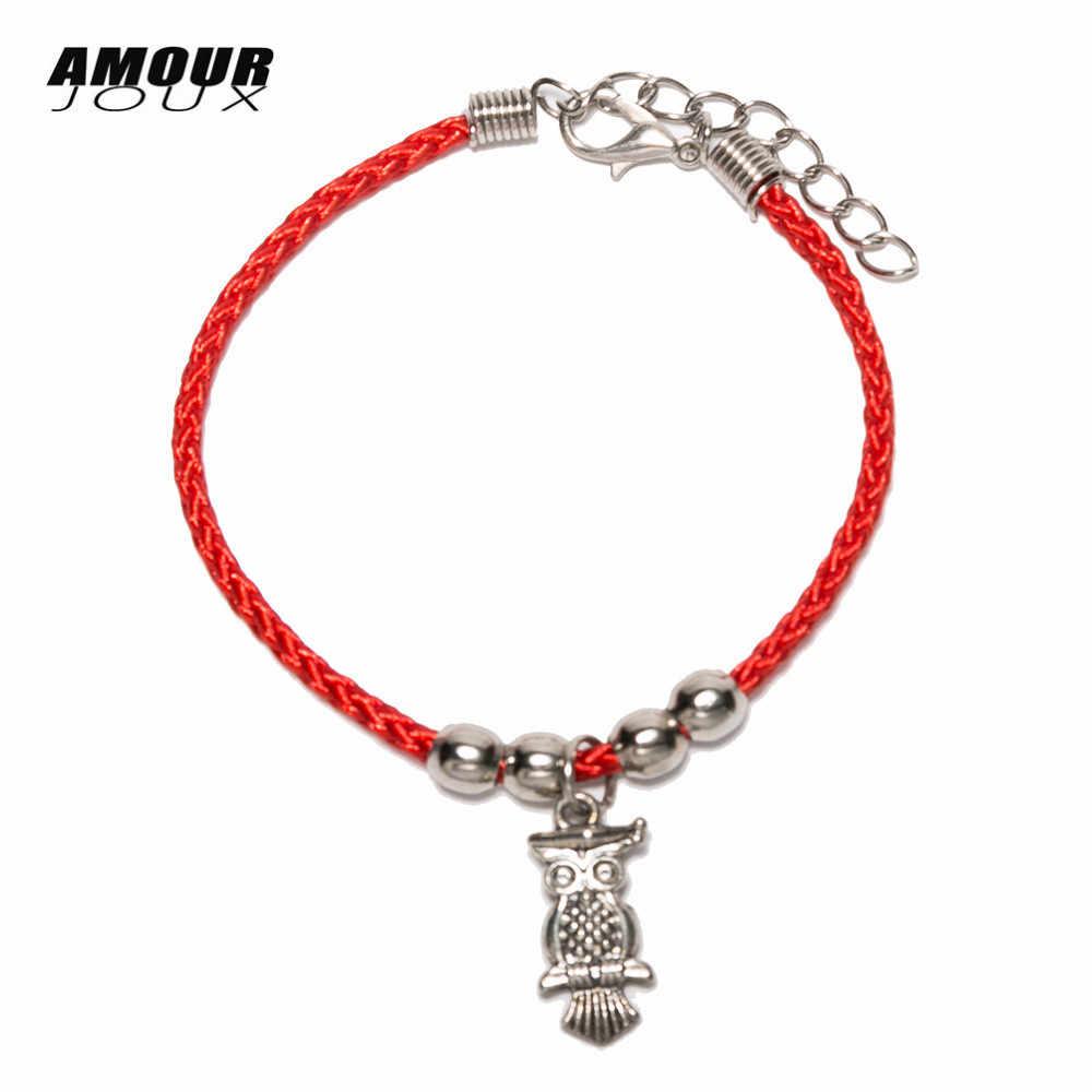 ตุรกีตาสีฟ้าชั่วร้าย Charms สร้อยข้อมือ Lucky Red String ด้ายเชือกสร้อยข้อมือสำหรับผู้หญิงผู้ชายเด็กด้ายสีแดง amulet เครื่องประดับ