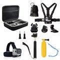 Acessórios da câmera Caso Saco De Armazenamento Cinta 11-em-1 Kits para Gopro hero 5 4 3 + 3 sjcam sj5000 m10 m20 xiaomi yi câmera