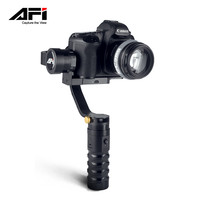 New AFI VS 3SD 3 Axis Handheld Gimbal Brushless Gyro Camera Stablizer 360 for Canon Sony Panasonic and DSLRs Mirrorless Cameras