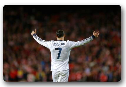 Custom Cristiano Ronaldo Doormat Bedroom Soccer Star Rugs CR7 Mats Football  Player Bathroom Carpets Christmas Decoration