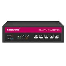 CimFAX H5S Факс сервер/Безбумажный цифровой факс для офиса/Отправка факса с компьютера/Пересылка факса на электронную почту/Замена факсимильного аппарата и факс модема/Для 100 пользователей/Объем памяти 8ГБ