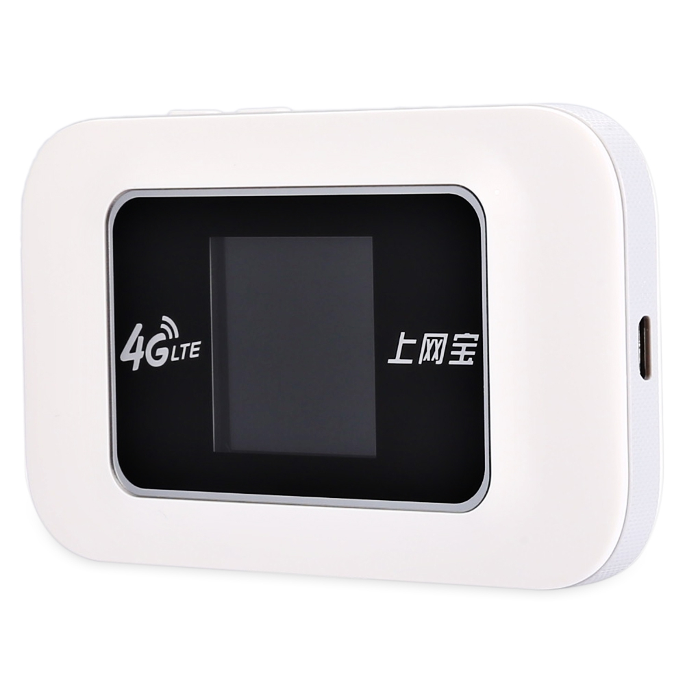 4G / 3G LTE 150Mbps Wireless Mobile WiFi Hotspot Router with Color Display Screen