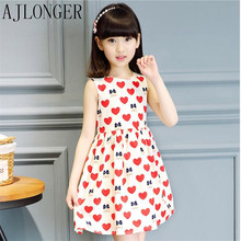 Girls Dresses Summer 2017 Princess Dress Baby Girl Fashion Clothes Kids Dresses For Girls arrival new 2017 princess summer baby girls black dress white polka dots children fashion dresses for little girl dresses