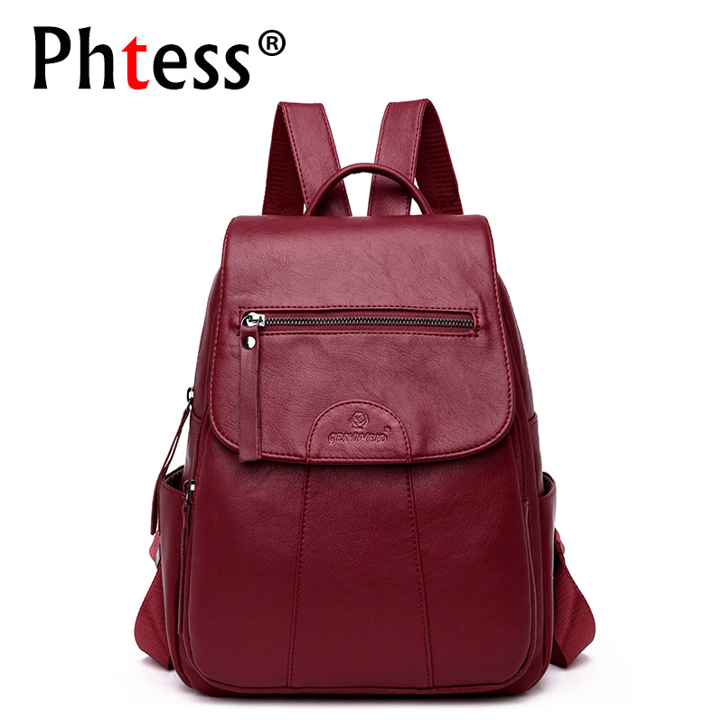 2018 Women Backpacks For Girls Sac a Dos Female Backpacks High Quality Large Capacity Travel Bagpack Ladies School Bags Preppy preppy style multi color women backpack teenager large school bag casual travel backpacks female high quality soft girls bags