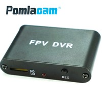 5pcs/lot 1ch HD MINI FPV DVR 1280x720 30f/s 1 channel SD DVR Works with CCTV ANALOG camera Support max 32G TF card