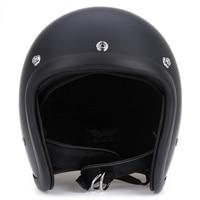 Motorcycle Retro Safety Helmet Open Face Retro Style Unisex Detachable Half Helmet Safety Safe Crash Helmet ABS Shell