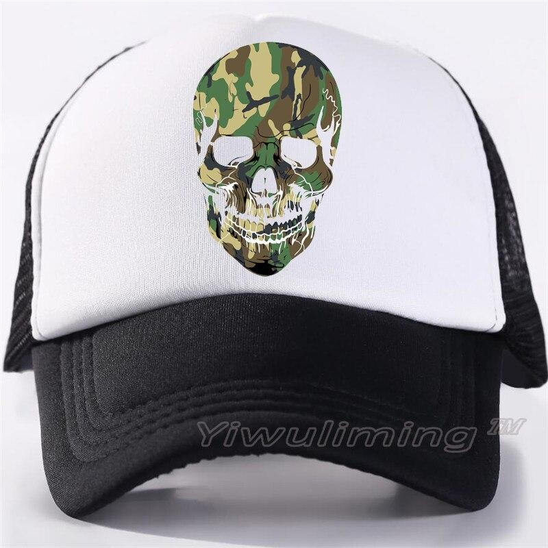 New Summer Trucker Caps military Cool Summer Black Adult Cool Baseball Mesh Net Trucker Caps Hat for Men Adjustable