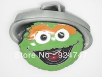 COOKIE MONSTER WITH HAT BELT BUCKLE