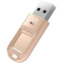 Envío libre DM PD065 VESTIR de Alta-velocidad de Reconocimiento de Huella Digital Cifrada Pen Drive Memory Stick USB de Seguridad