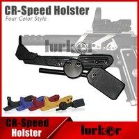 Rosso Pistola Fondina IPSC Stile Universale CR Velocità Holster per Gl0ck 1911 CZ Beretta M9 USP SP2022 P220 P226 Airsoft Gear Accessori