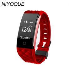 Niyoque Smart Band S2 Bluetooth Smart Браслет сердечного ритма Monitores Спорт Фитнес браслет для Android IOS PK xio Mi mi Группа 2