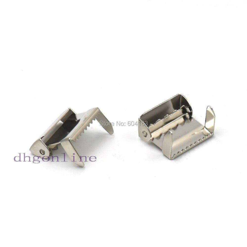 Home & Garden Buckles & Hooks Amiable 25 Pcs 19mm 3/4 Leg Ratchet Hardware For Suspender Paci Pacifier Clip Buck Belt Adjust