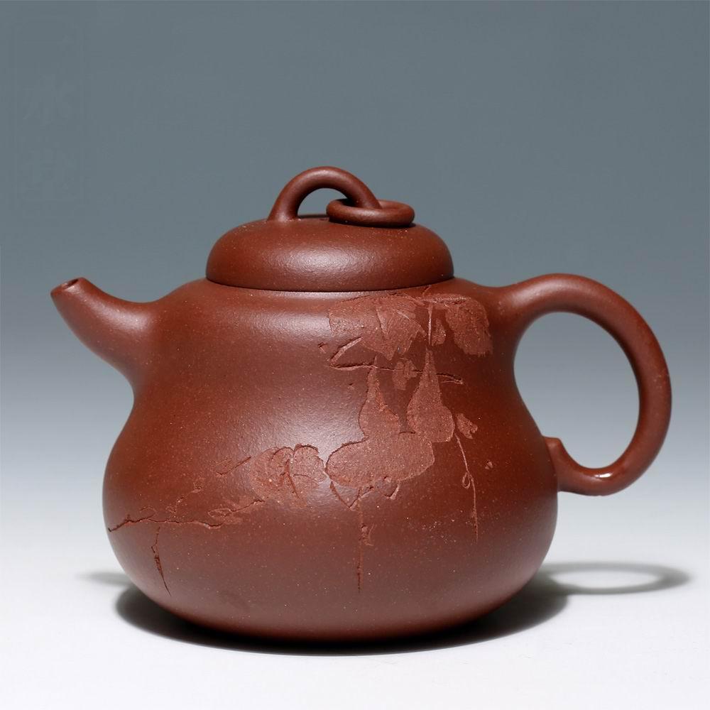 Mine water teapot handmade fine tea 92 tank gourd Free Shipping,