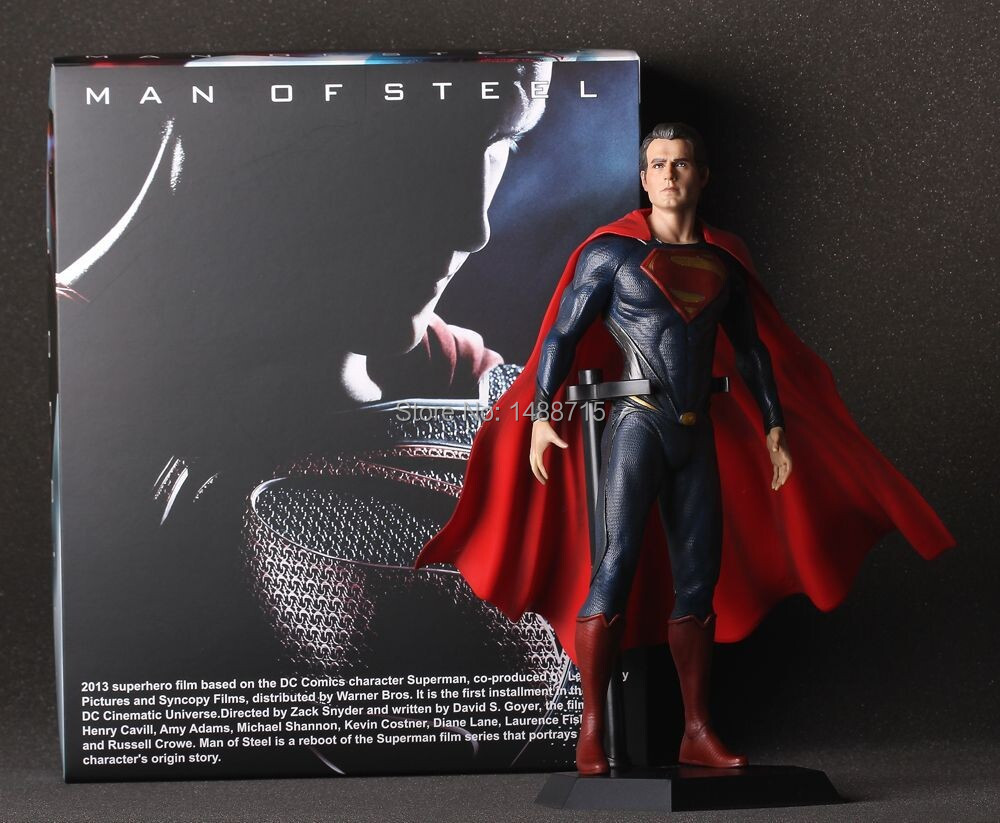 Hot Sale Classic Movie Justice League Krypton Superhero Superman / Clark Kent Man Of Steel PVC 12/30CM Figure Toys New Box free shipping cool big 12 justice league of america jla super man superman movie man of steel pvc action figure collection toy