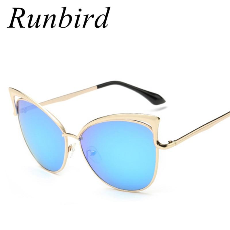 2018 NOVÁ Značka Designer Oculos De Sol Feminino Kočičí brýle pro oči ženy Vintage kovový rám sluneční brýle Gafas De Sol R105