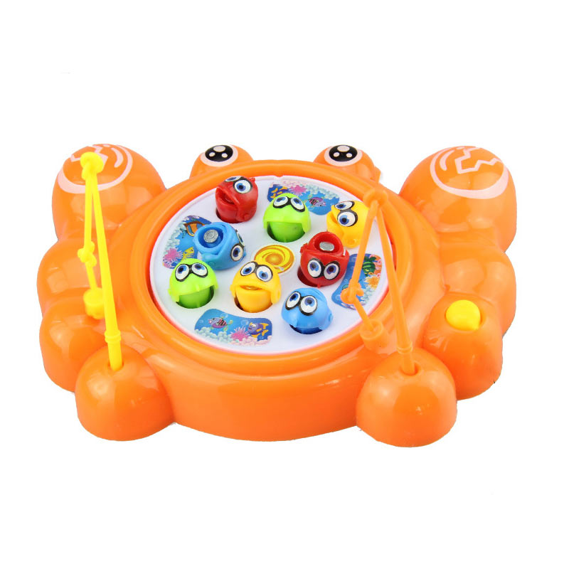 8PCs Fishing Game Marine Biological Cognitive Fishing For Floaters Puzzle Toys