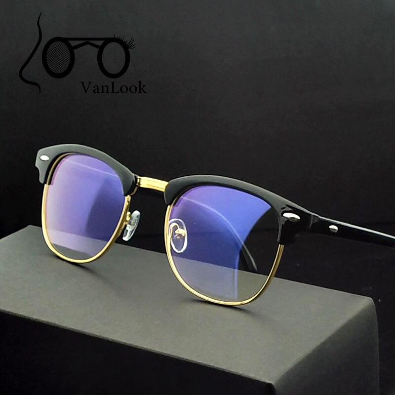 Transparent Ordinateur Lunettes Pour Femmes Hommes Spectacle Cadre Anti Blue Ray Lentille Claire Lunettes De Mode Oculos