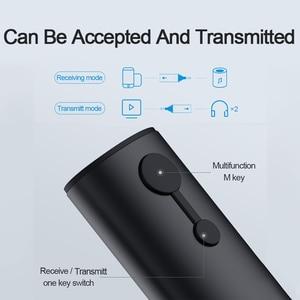 Image 2 - Hagibis Bluetooth Thu Phát 3.5 Mm APTX LL 2in1 Bluetooth 5.0 Âm Nhạc Adapter Dành Cho Tai Nghe Loa Âm Thanh Không Dây Truyền Hình