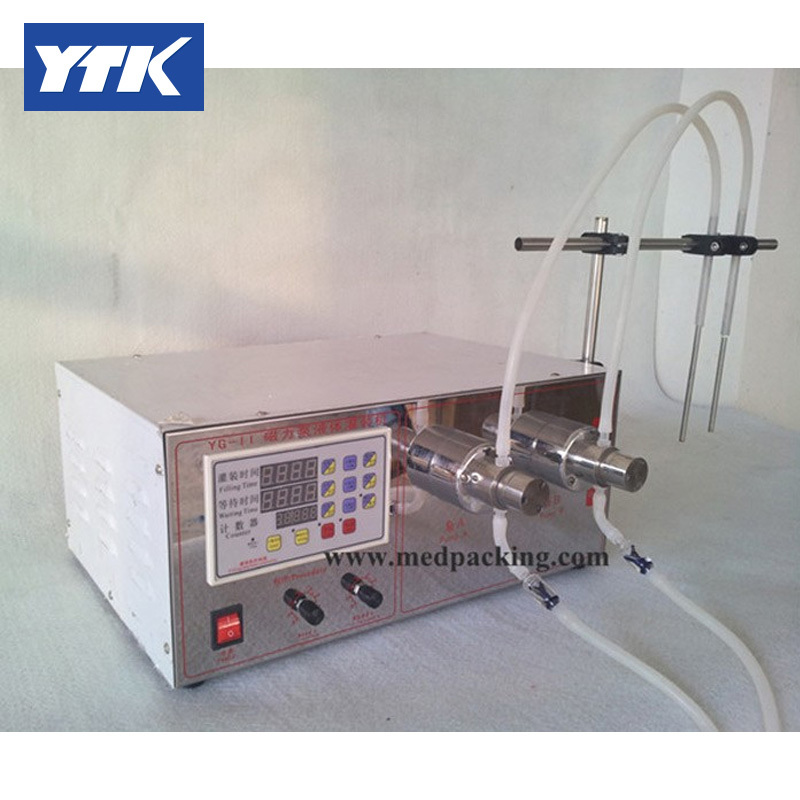 YTK 5ml to unlimited  Digital Control Magnetic Gear Pump Liquid Filling Machine YS-MFD22