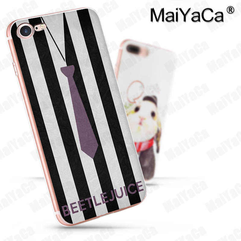 MaiYaCa Beetlejuice Handbook 2018 New Luxury fashion cell phone case for  iPhone 8 7 6 6S Plus X 10 5 5S SE XR XS XS MAX