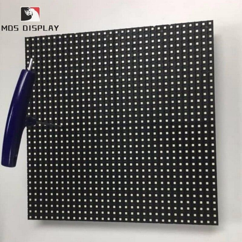 Panneau de écran publicitaire à led d'intense luminosité mené polychrome extérieur de l'écran d'affichage led étanche extérieure P5.95