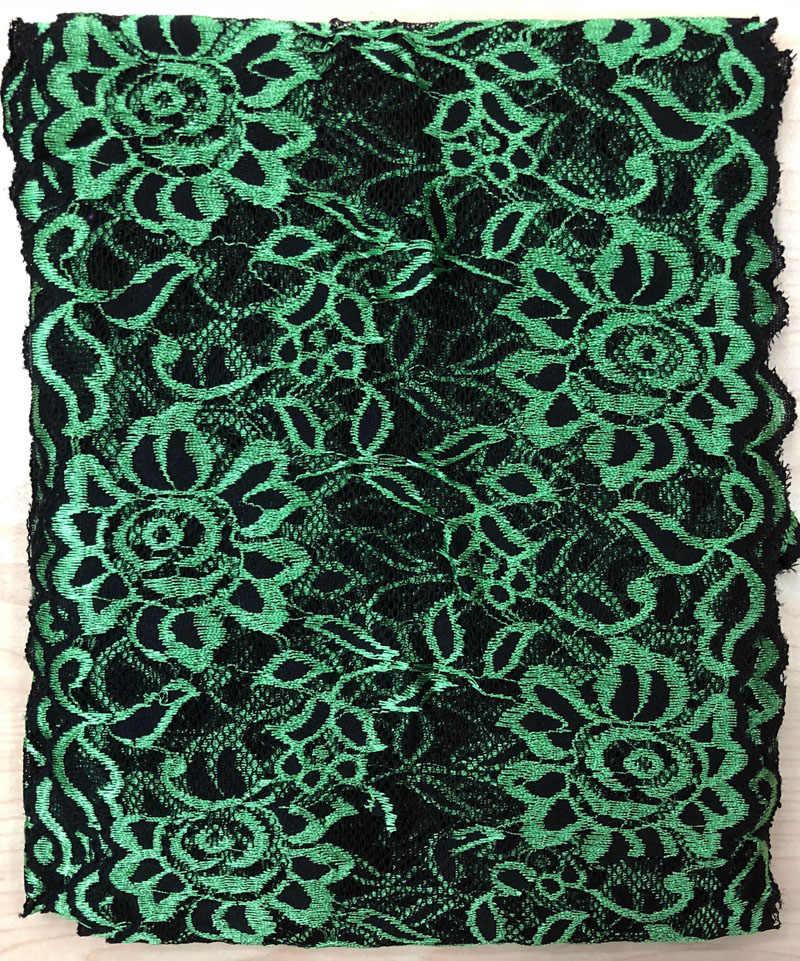 10 ярдов 18 см Ширина 16 цветов украшение для волос широкое эластичное растягивающееся свадебное платье с кружевной отделкой юбка нижнее белье кружевная отделка ткань