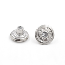 (50 pieces/lot) 17mm new buttons. Jeans Fashion buckle. Clothing & Accessories Sewing Snaps. Metal rivets