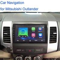 7 дюймов 2Din Android 6.0.1 автомобиль радио встроенный Wi Fi и 1 г памяти автомобиля DVD GPS навигации mp5 плеер для mitsubishi Outlander 2007