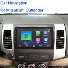 7 inch 2din android 6.0.1 car radio built-in WiFi and 1G memory Car DVD GPS Navigation MP5 Player for Mitsubishi Outlander 2007