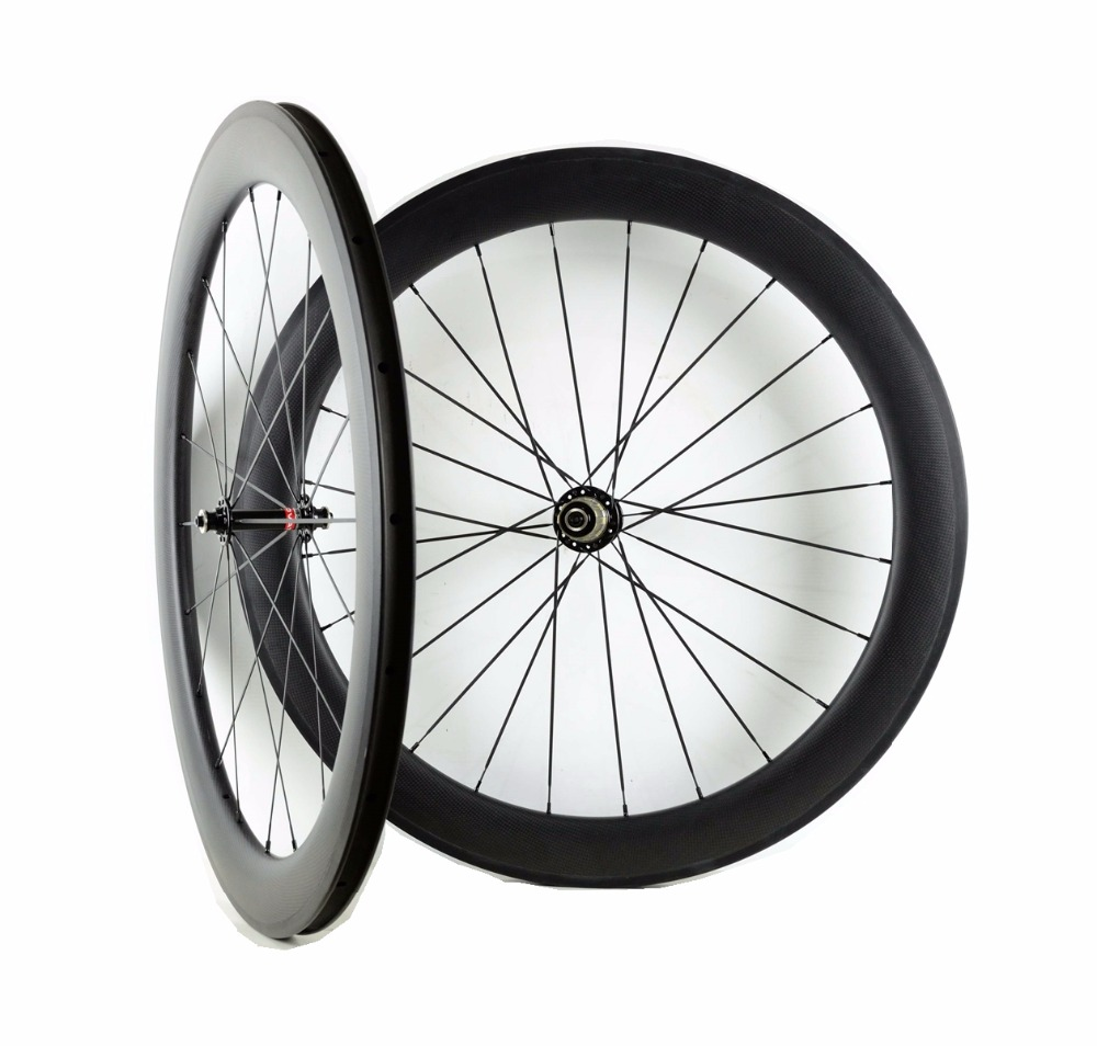 Freeshipping 60mm depth road carbon wheels 700C 23mm width clincher/Tubular bike carbon fiber wheelset with Novatec291/482 hub far sports carbon wheels 50mm clincher 23mm wide with novatec hub and sapim spokes novatec carbon wheels fsc50cm 23 700c