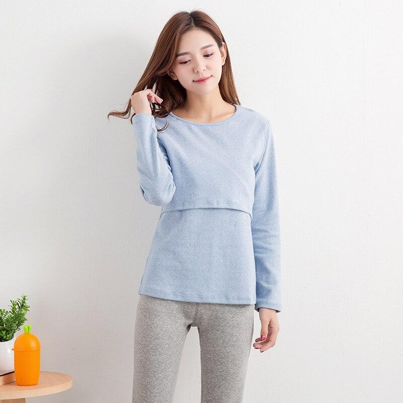 cotton Breast Feeding Tops Tees Maternity Nursing Clothes Pregnant Women Breastfeeding T-shirt Maxi Premama Wear Clothing