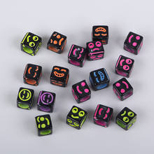 Fashion DIY Kids Hand-Made Beads Materials Smiling Face Bracelet Accessory Acrylic Through-The-Hole Custom-Made