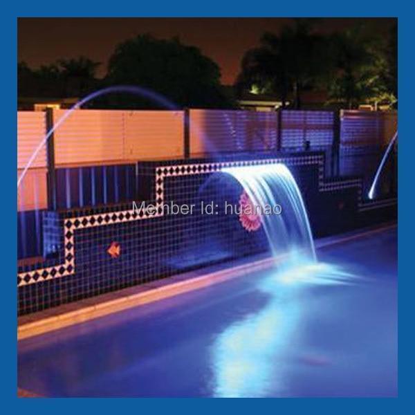 pool waterfall lighting. Pool Waterfall Led Light, Swimming Water Blade Lighting