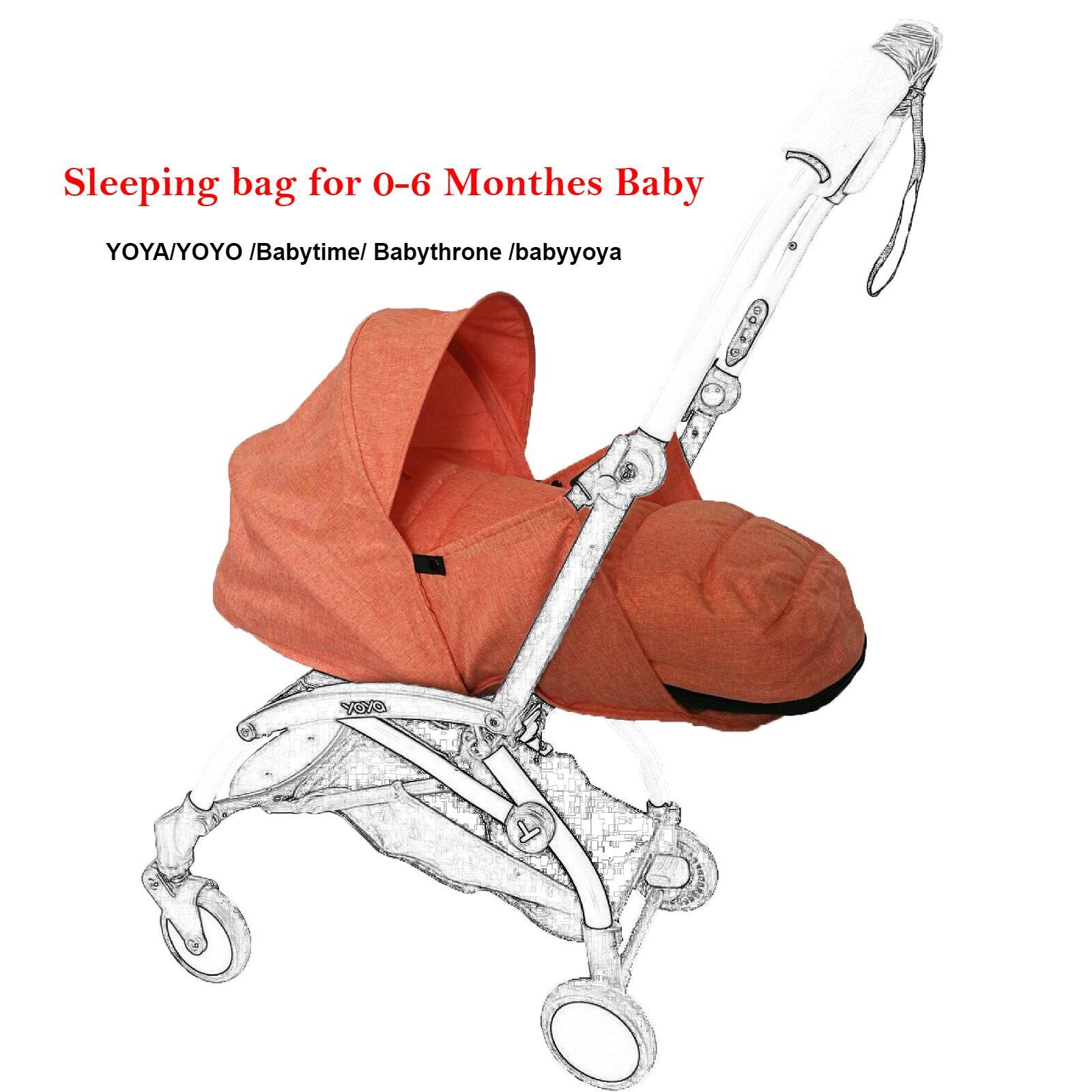 Newbron Nido Passeggino Dorme Carrello per Babyzen Yoyo Yoya Babyyoya Bambino Trono Sacchetto di Sonno di Nascita Nido Passeggino Accessori