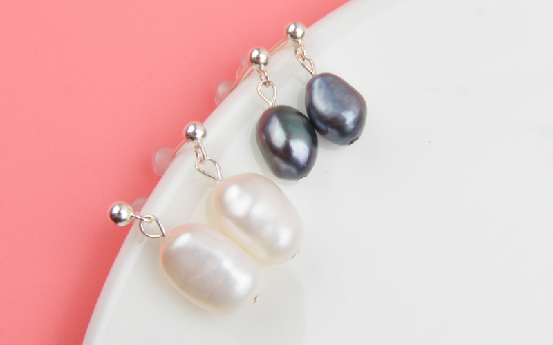 HTB1dGEWNMHqK1RjSZFkq6x.WFXan - ASHIQI Natural Freshwater Pearl Earrings Real 925 Sterling Silver long korean earrings for Women Big Baroque pearl Jewelry Gift